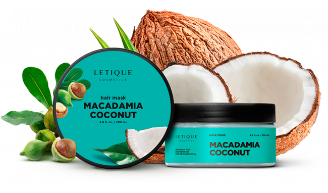 Hair mask macadamia - coconut