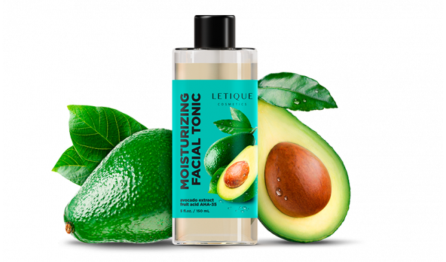 Moisturizing tonic with avocado