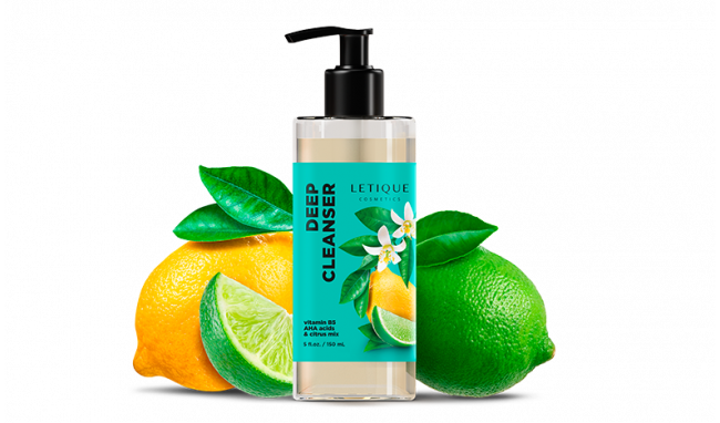 Foam-balance deep face cleanser