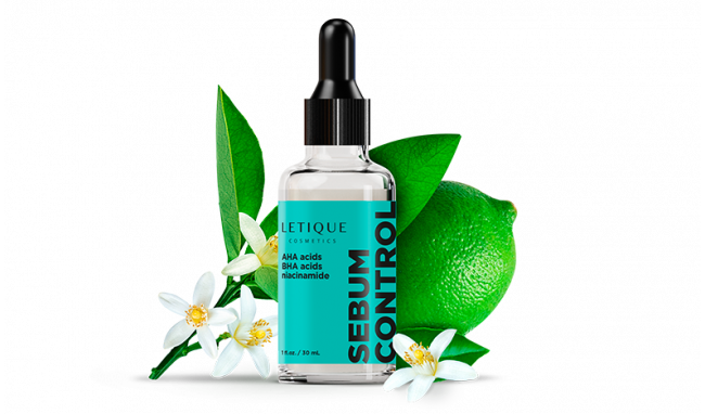 Sebo-regulating face serum